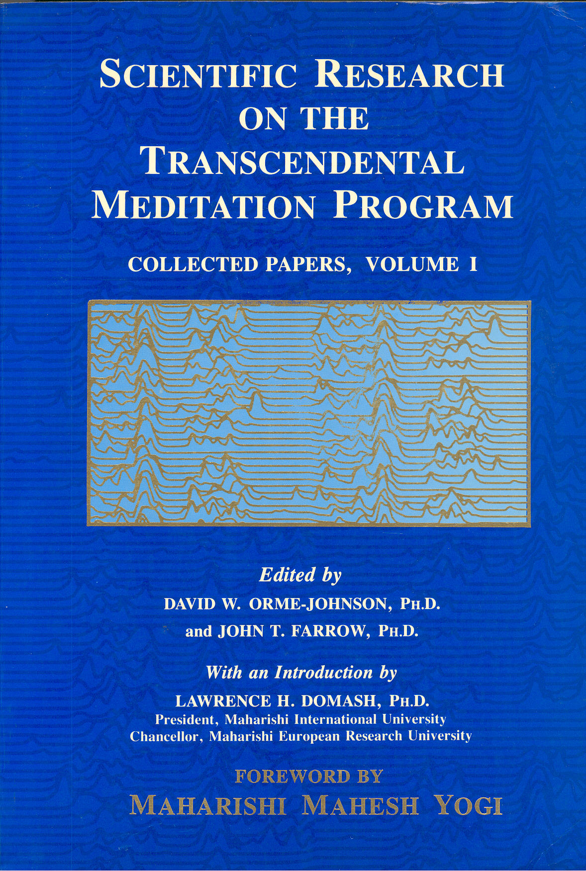 scientific research transcendental meditation program collected papers